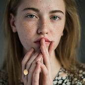 Young Girl with Freckles