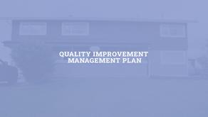 Our Quality Improvement Management Plan