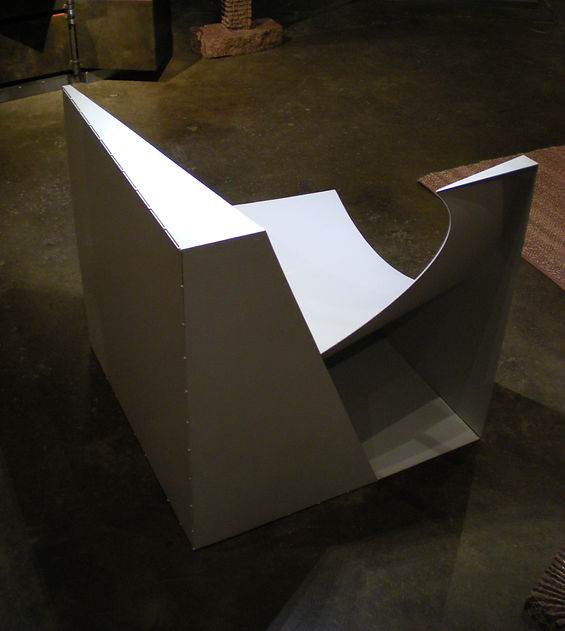 Cube Cylinder Chair