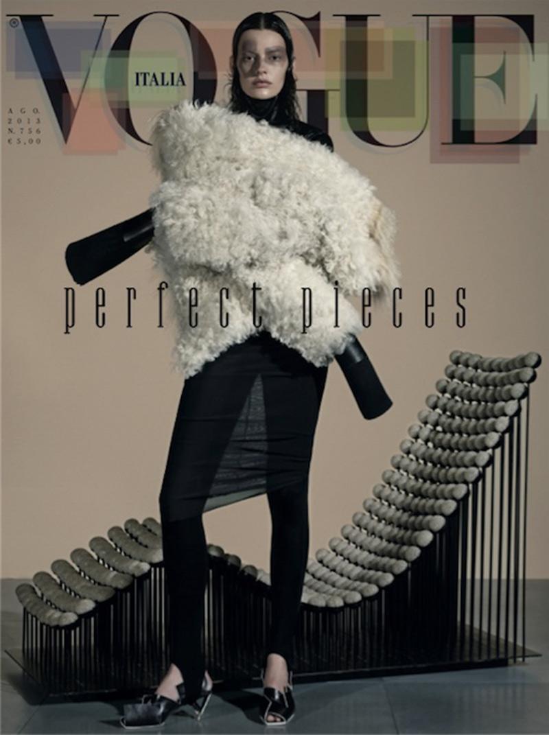 Vogue-Italia August, 2013