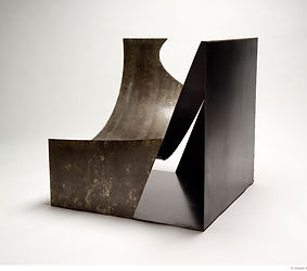 sculptural chair, Stan Carroll