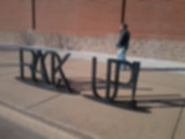 Bike Rack, Stan Carroll