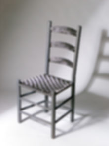 Stainless Shaker Ladderback Chair