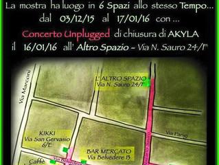 Expo sincronica Itinerante:              Ubiquità 6 di Quartiere di Akyla Khem