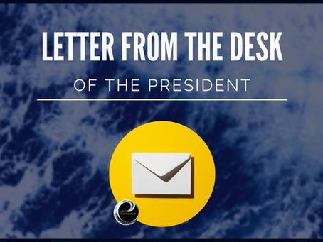 From The Desk Of The President | 2020 Recap