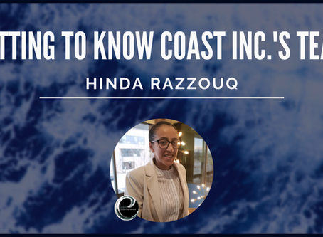 Getting To Know Coast Inc.'s Team: Hinda Razzouq