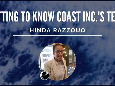 Getting To Know Coast Inc.'s Team: Hinda Razzouq