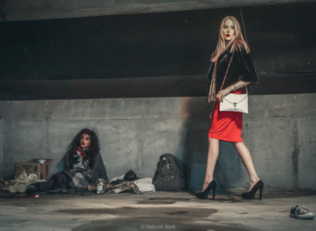 Homelessness Awareness Editorial Photography
