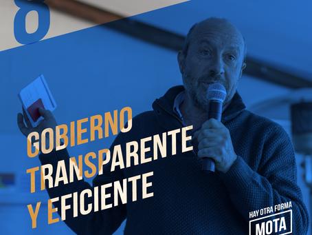 Gobierno transparente y eficiente