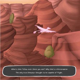 Flying Fellow (Microraptor)