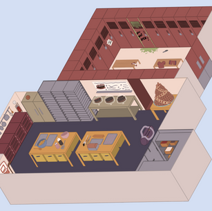 Brownie Points Isometric Environement