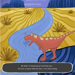 Move Along (Carnotaurus)
