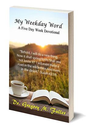 Book: Week Day Devotional