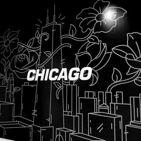 Nike Chicago Mural / 2017