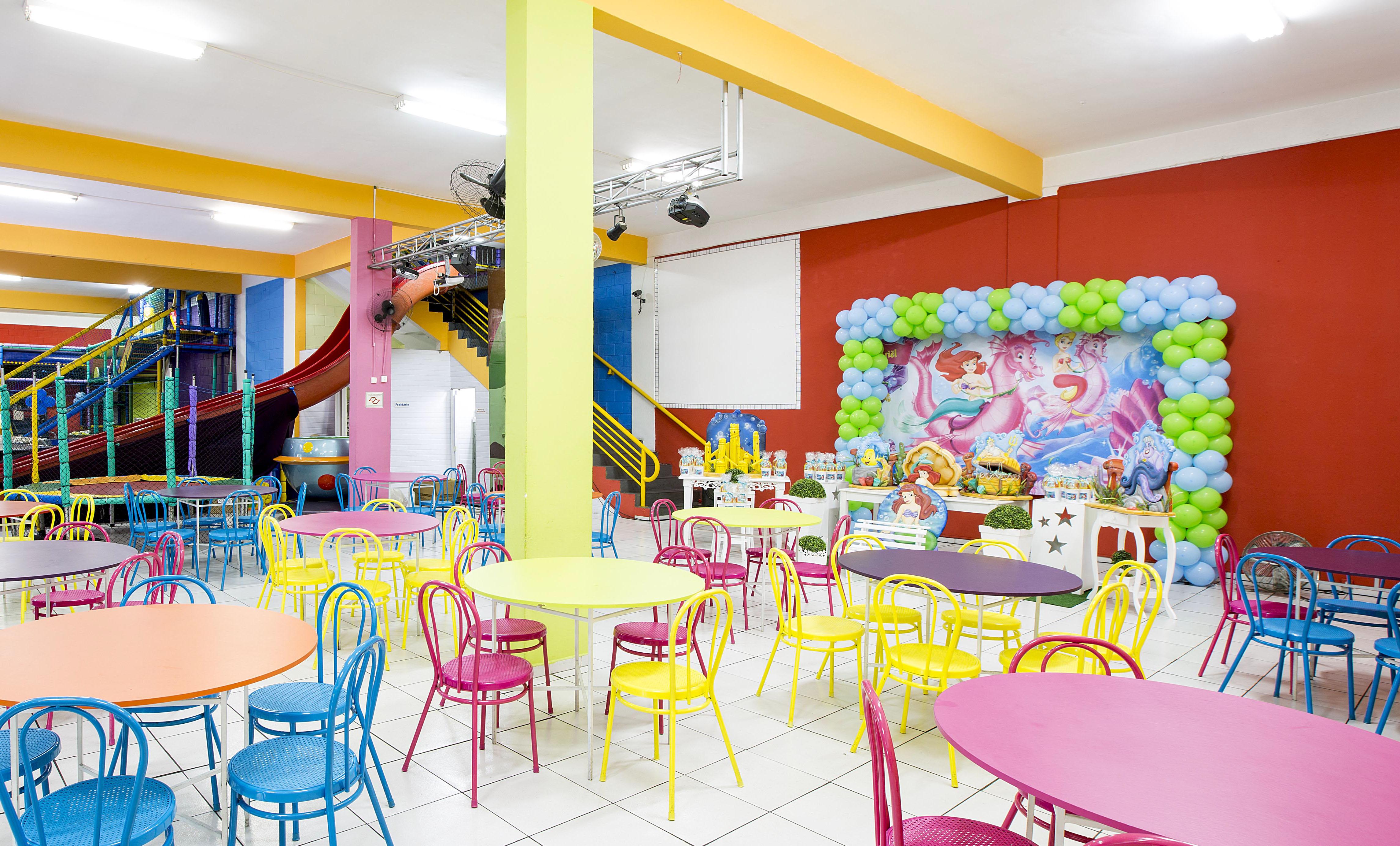 Drops buffet infantil
