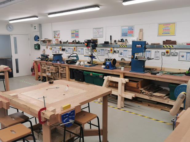The CANTO Learning Wood Work Centre