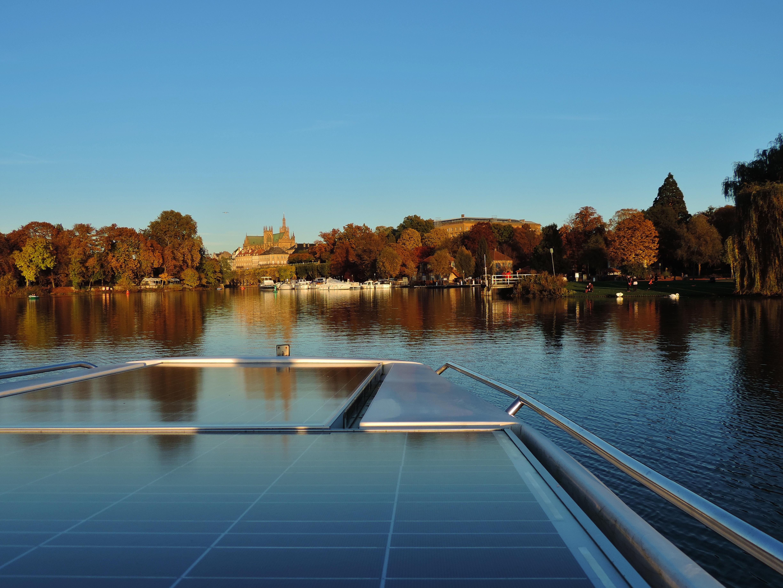 promenade bateau solaire