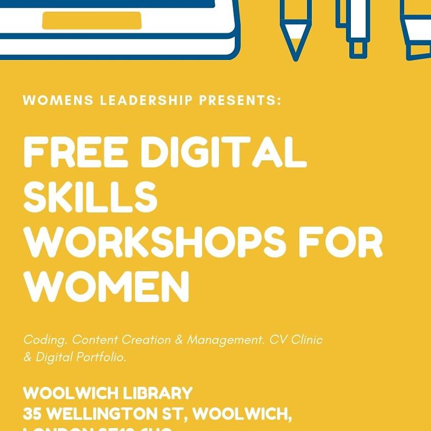 Free Digital Workshop Skills For Women
