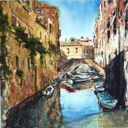 Canal etude. Venice