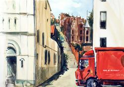 Red wagon/Красный фургон