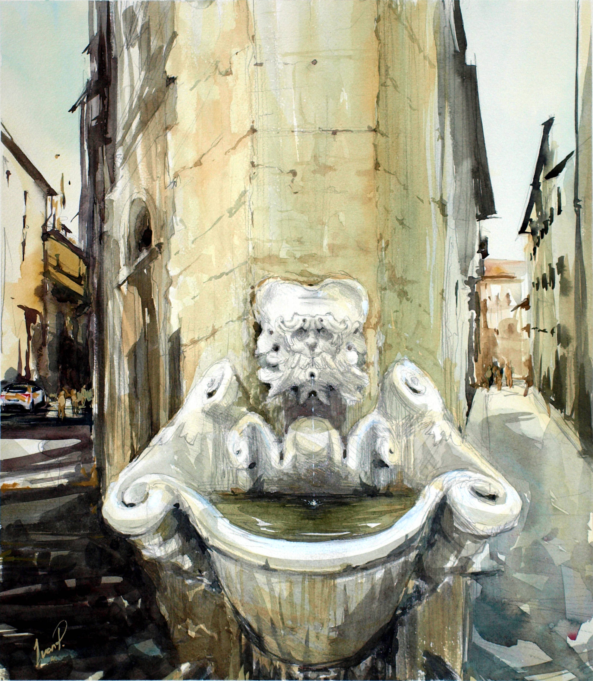 Sprone fountain/Фонтан Спроун