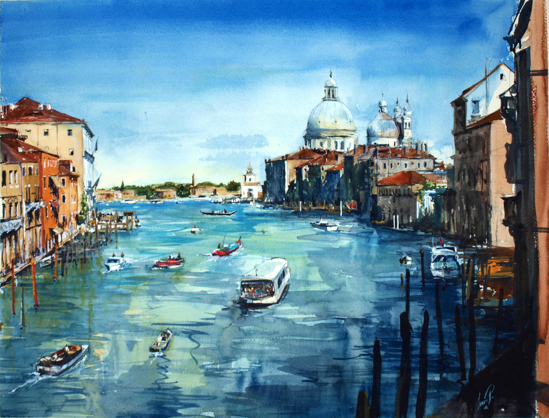 Venice/Вид на собор в Венеции