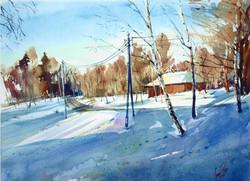 Winter Bitza/Зима в Битце