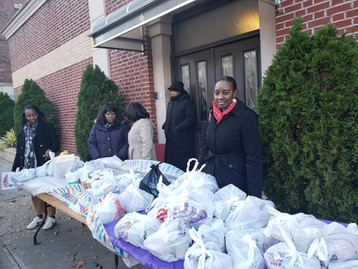 Thanksgiving outreach