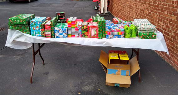 Christmas Gifts for neighborhood children