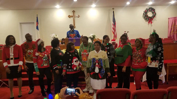 Wear you Ugly Christmas Sweater to Church