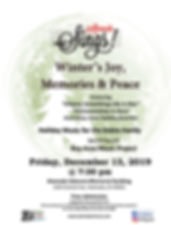 Alameda Sings Winter Concert Flyer 11 12