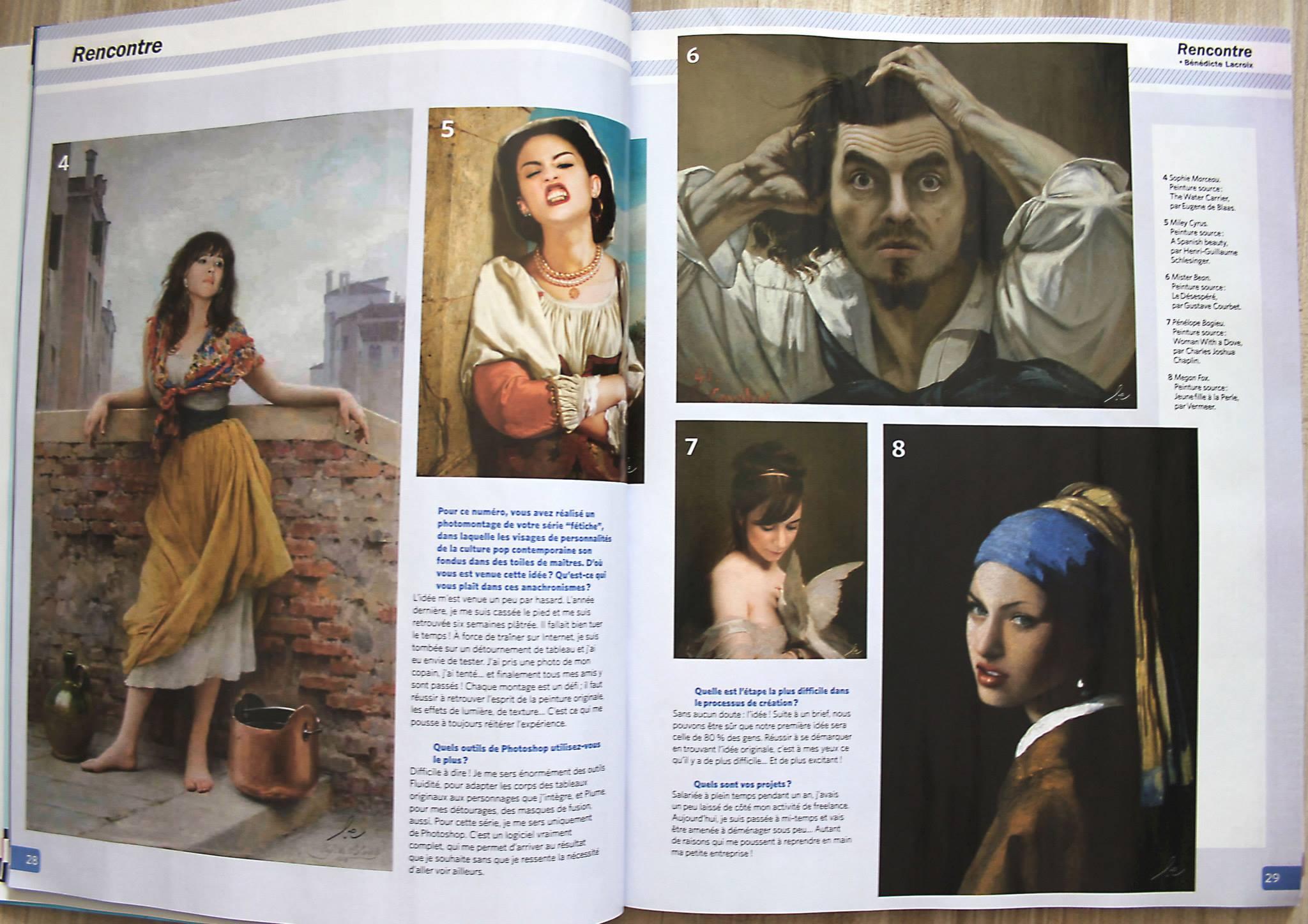 """Magazine """"Photoshop à la manière de"""""""