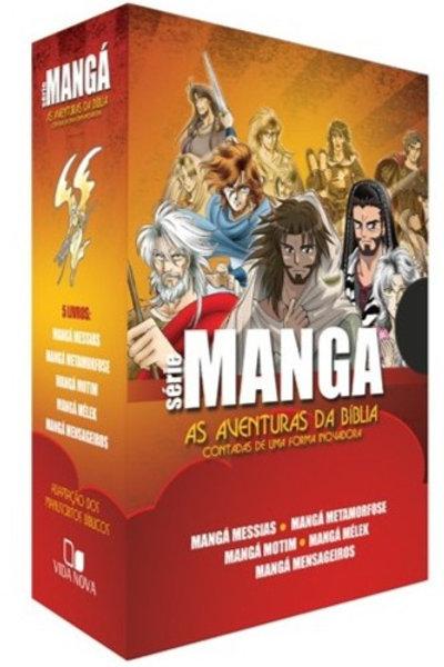 Box Série Mangá - 5 Livros