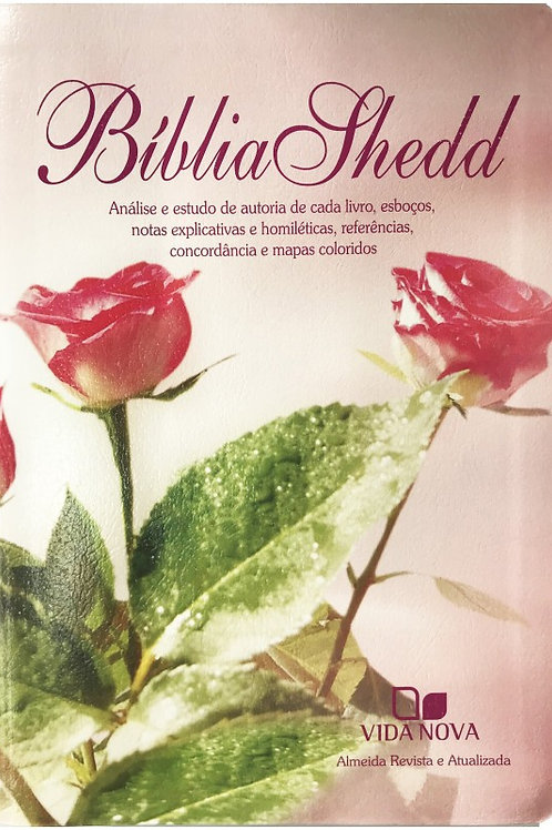 Bíblia Shedd - Capa Feminina