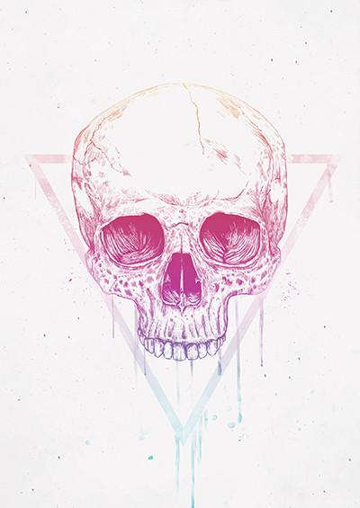 Skull In A Trinagle
