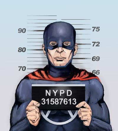 Superhero In Trouble