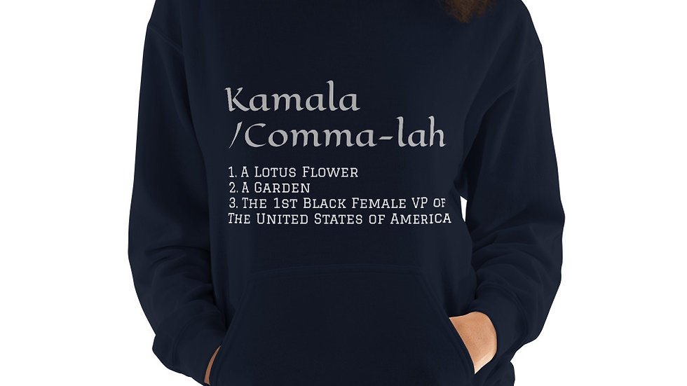 KAMALA Meaning Unisex Hoodie