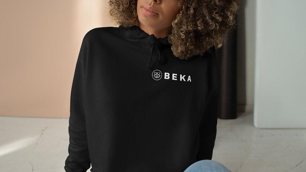 Ladies Crop Hoodie w/ BEKA Logo