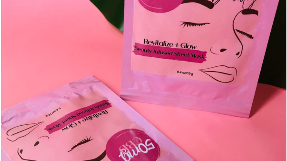 NFZD Beauty Infused Sheet Mask (2-Pack)