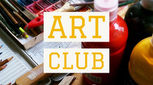 Art Club is BACK!