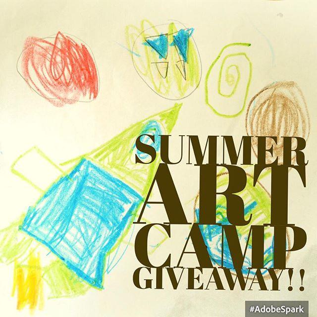 Summer Art Camp Giveaway