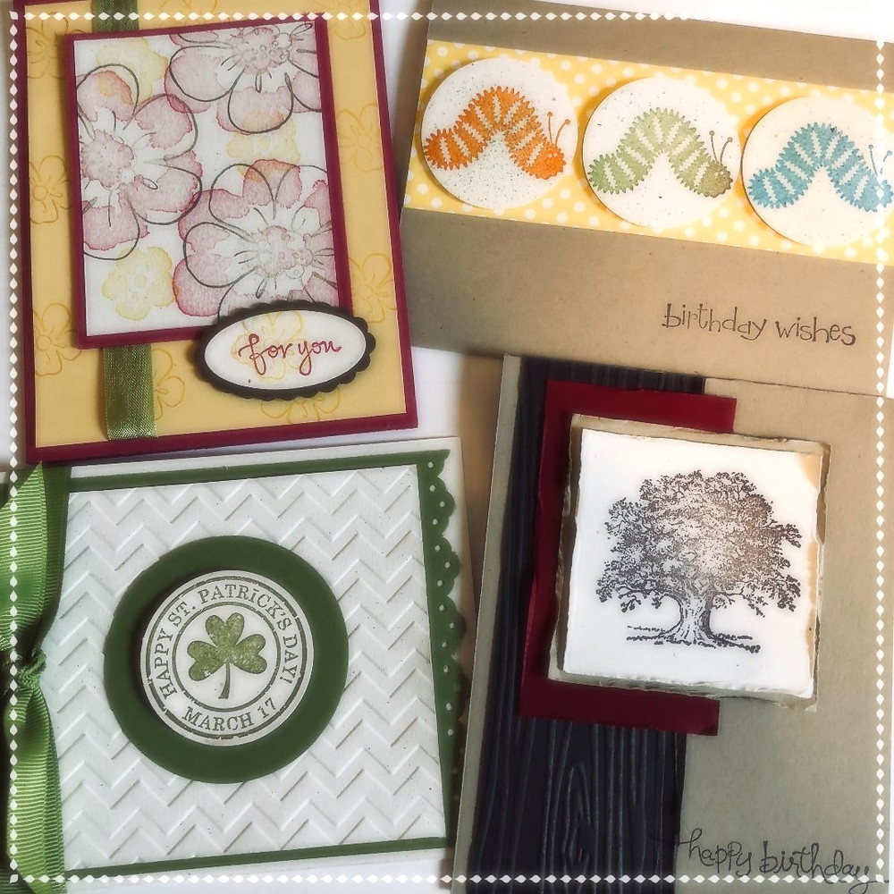 """Card-Making Workshop! """"Happy Birthday"""" """"Just Because"""" and """"St Patrick's Day"""""""
