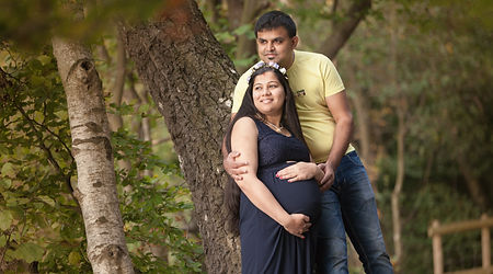 Maternity photographs on location