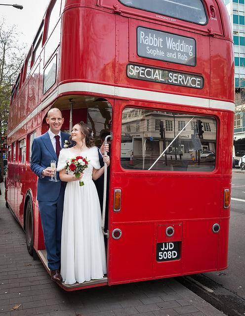 Start of bus tour