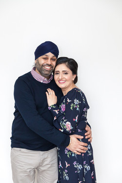Sarbjeet and family