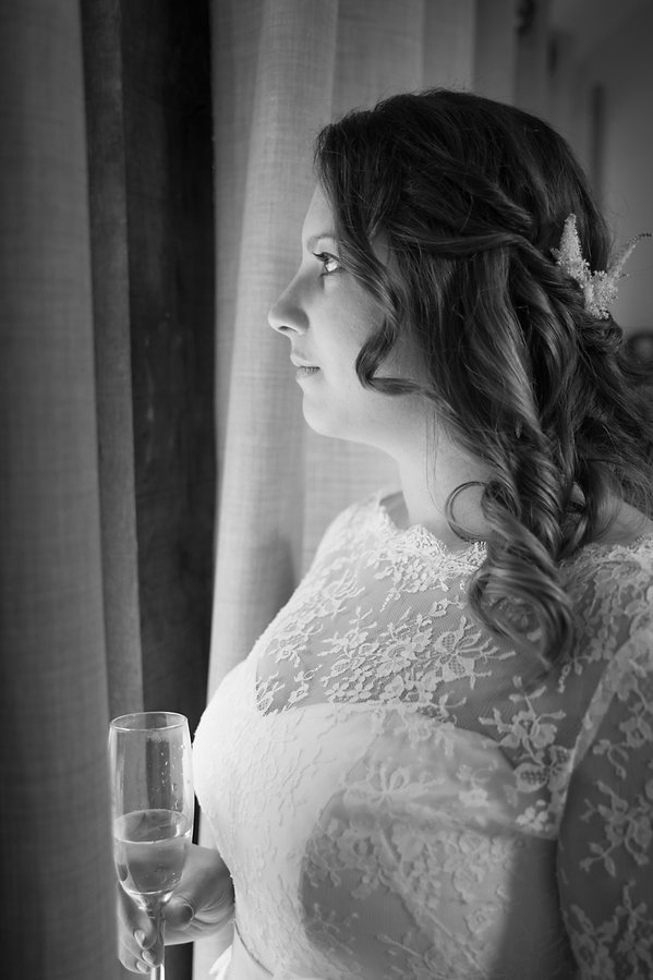 Bridal portrait photograph