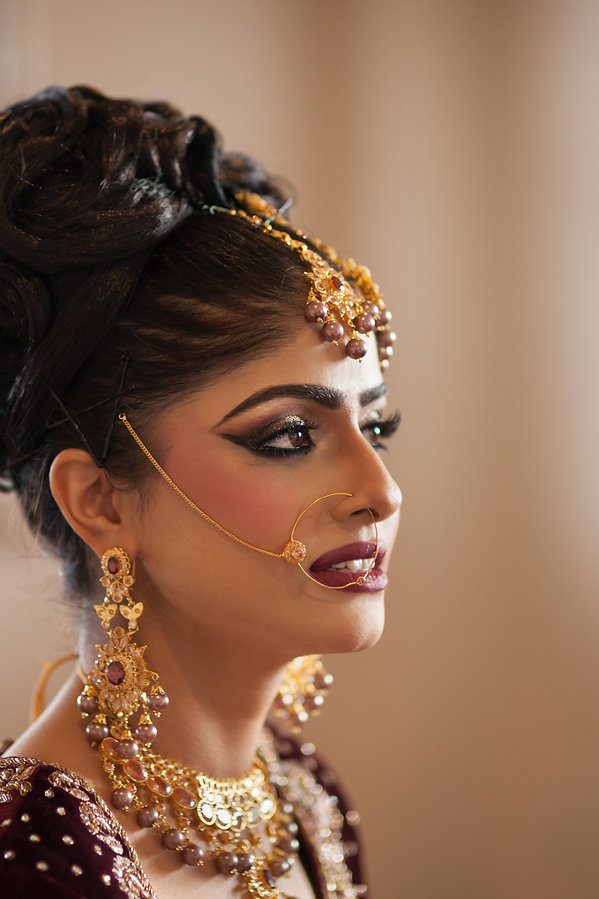 Beautiful bridal photograph