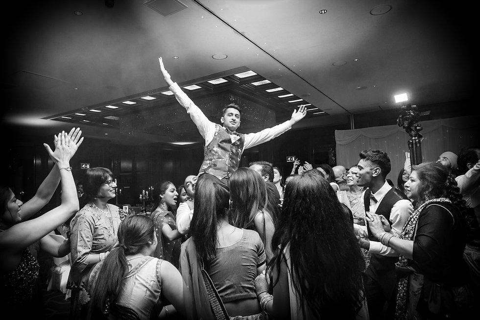 Heathrow hotel wedding celebrations