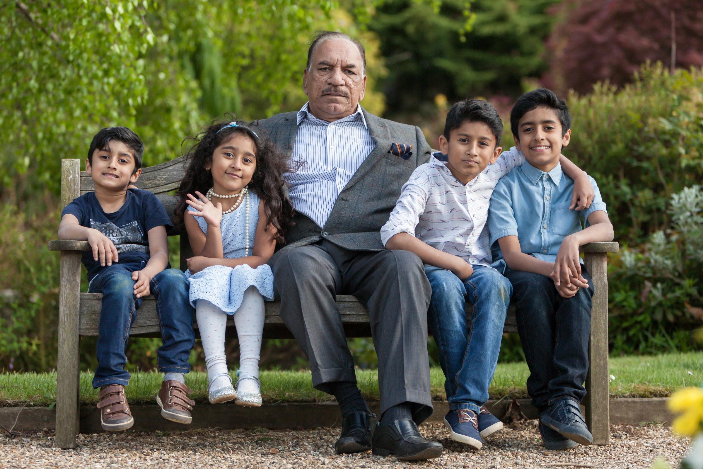 Qasim & family