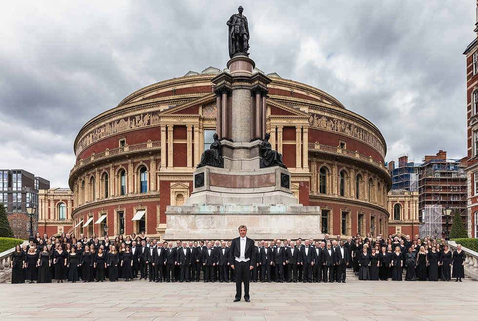 Royal Choral Society at The Albert Hall